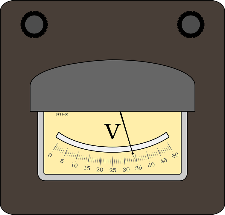 Volt Meter Electric · Free vector graphic on Pixabay