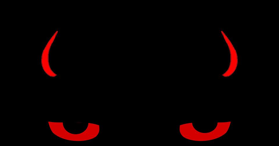 Cuernos De Diablo Png: Diablo Demonio Cuernos · Gráficos Vectoriales Gratis En