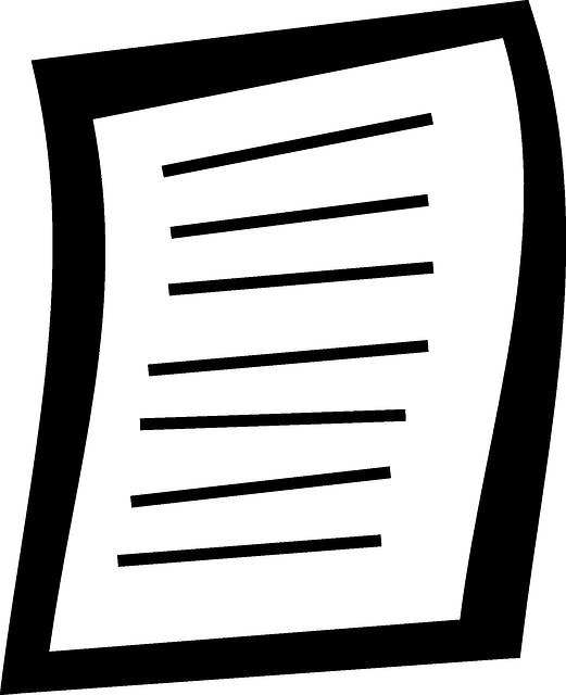 image vectorielle gratuite document papier feuille crit image gratuite sur pixabay 38200. Black Bedroom Furniture Sets. Home Design Ideas
