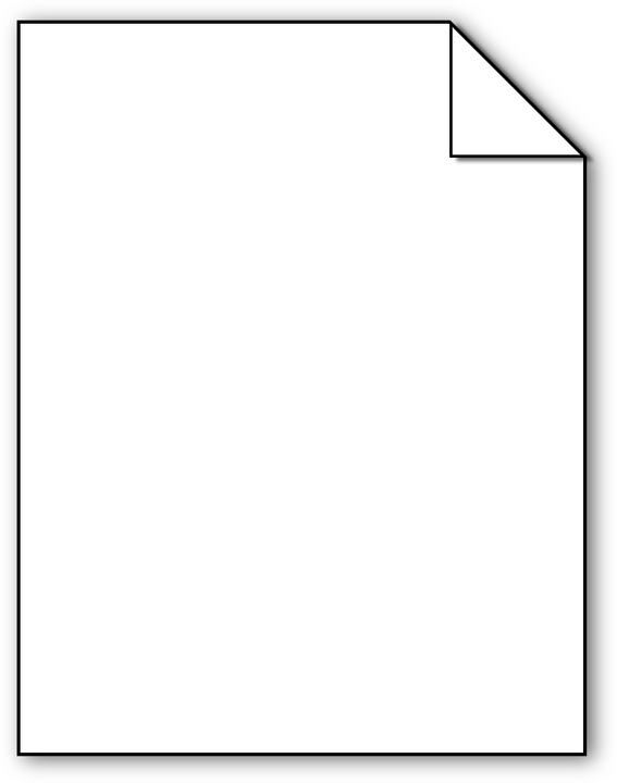 Image Vectorielle Gratuite Papier Document Blanc Vide