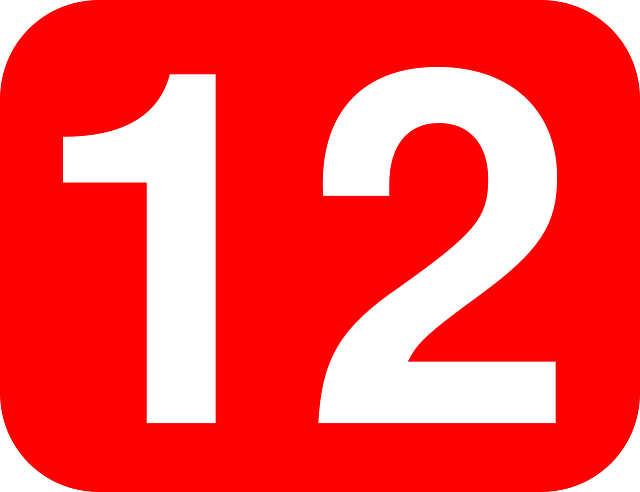 Free vector graphic: Twelve, 12, Number, Rounded - Free ... Career Choice Clipart