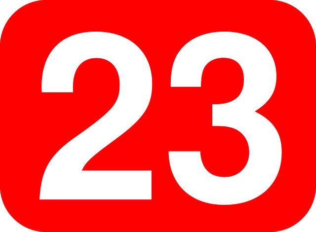 """Attēlu rezultāti vaicājumam """"23 number images"""""""""""