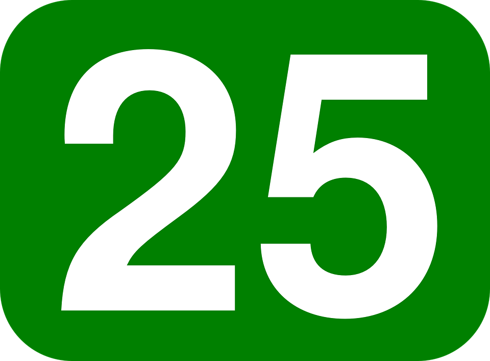 25 en nmeros - photo #3