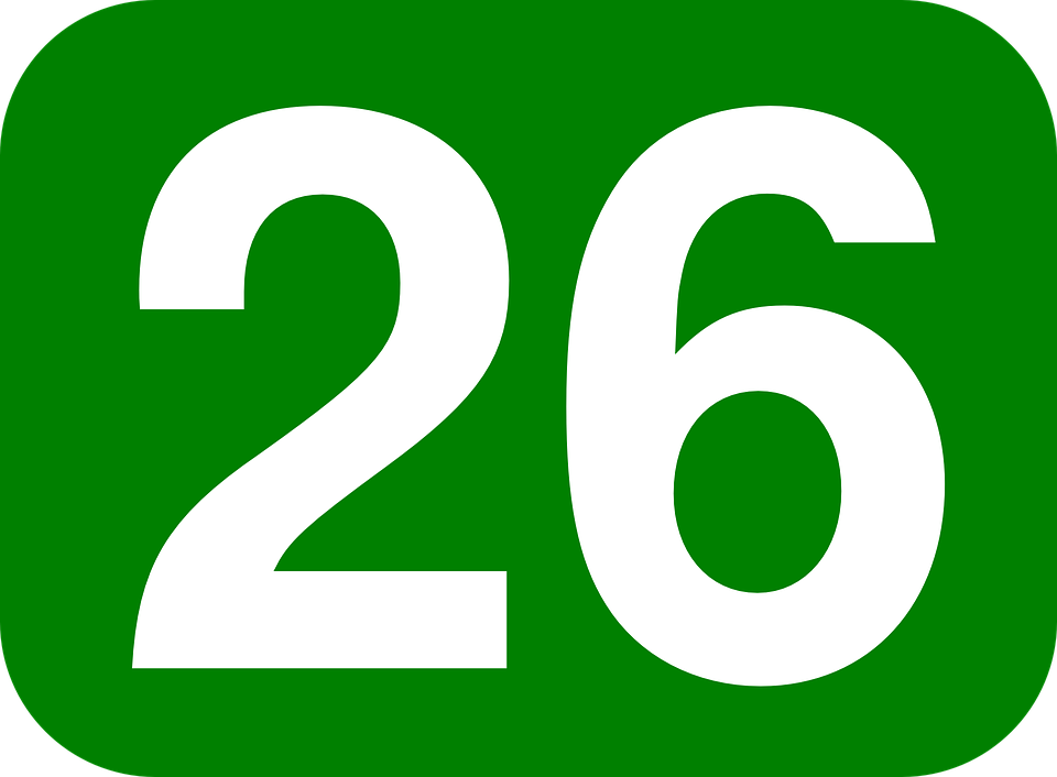 green white number free vector graphic on pixabay