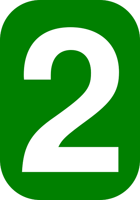 Dos Número Redondeado - Gráficos vectoriales gratis en Pixabay