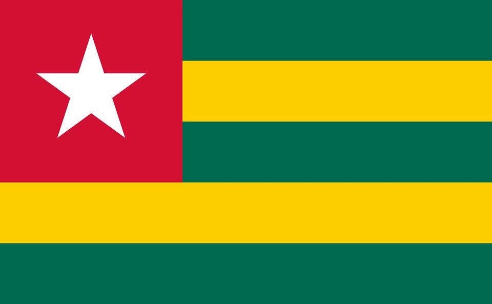 Bandera Togo República Togolesa - Gráficos vectoriales gratis en ...