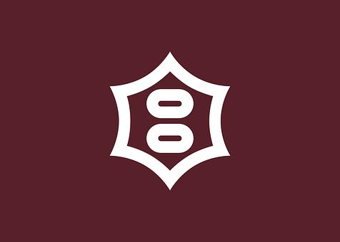 国旗, 宇都宮, 市, 栃木, 県, 六角形, 日本, アジア人, アジア