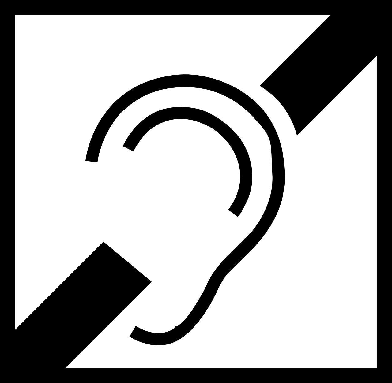 Semnul pentru deficiente de auz