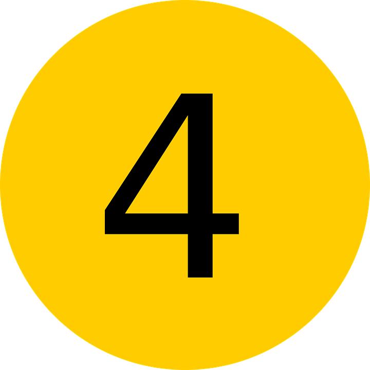 Free vector graphic: Four, Number, 4, Fourth, 4Th, Count - Free Image ...