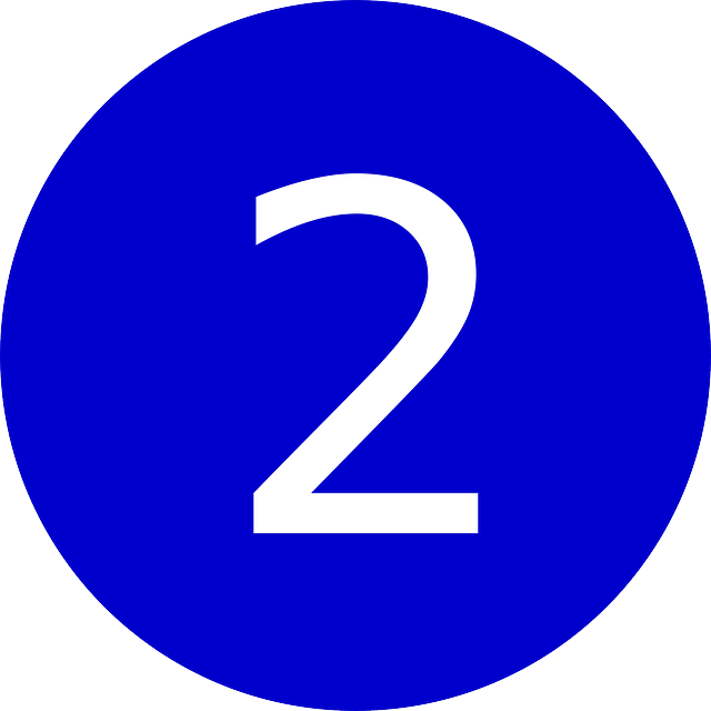 free vector graphic two 2 number symbol amount free image