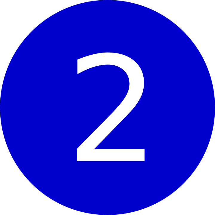 Two 2 Number Symbol Amount Double 39115
