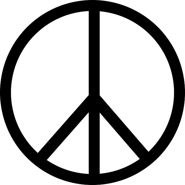 peace sign symbol free vector graphic on pixabay rh pixabay com vector peace hand sign vector peace sign free