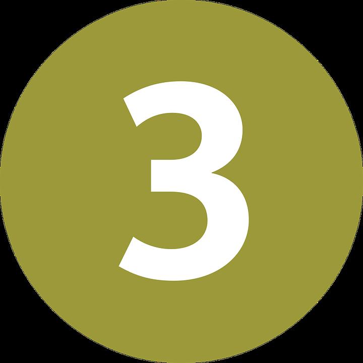 Symbol Numeral Three  U00b7 Free Vector Graphic On Pixabay