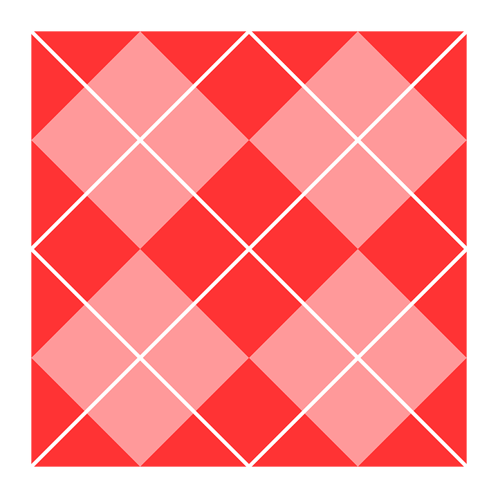 Argyle, Patterns, Red, Pink, White, Squares, Shapes
