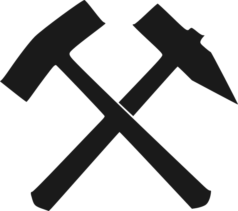 Hammer Iron Chisel Chipping · Free vector graphic on Pixabay