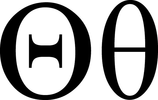 Free Vector Graphic Theta Greek Math Symbol Angle Free Image On Pixabay 39860