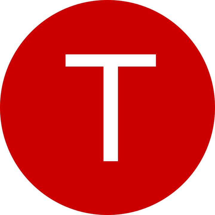 T&m Home Design Part - 26: Letter Red T Circle Symbol Text