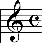 music, note, clef