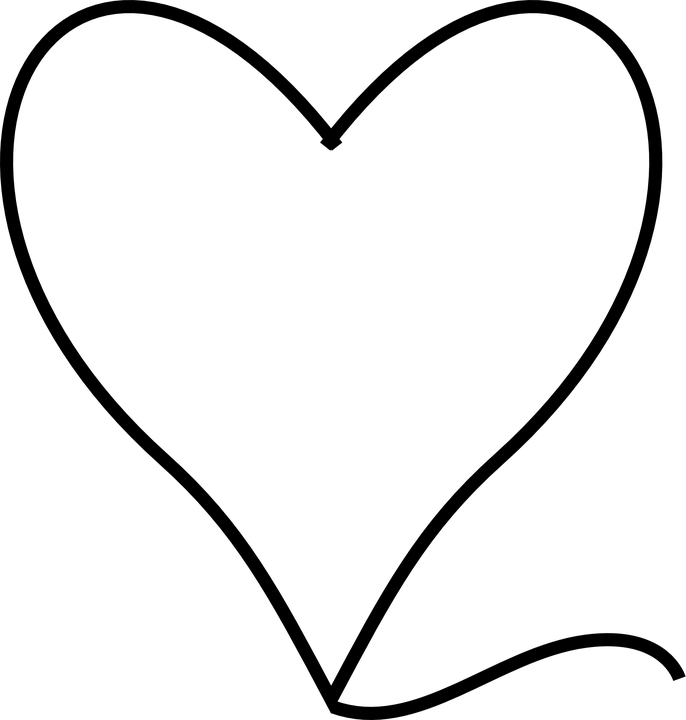 Heart Symbol Shape Free Vector Graphic On Pixabay