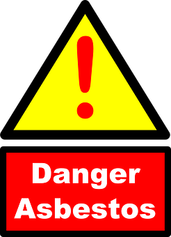 アスベスト, 危険, 警告, 発癌物質, 健康, 建設, 安全性, リスク