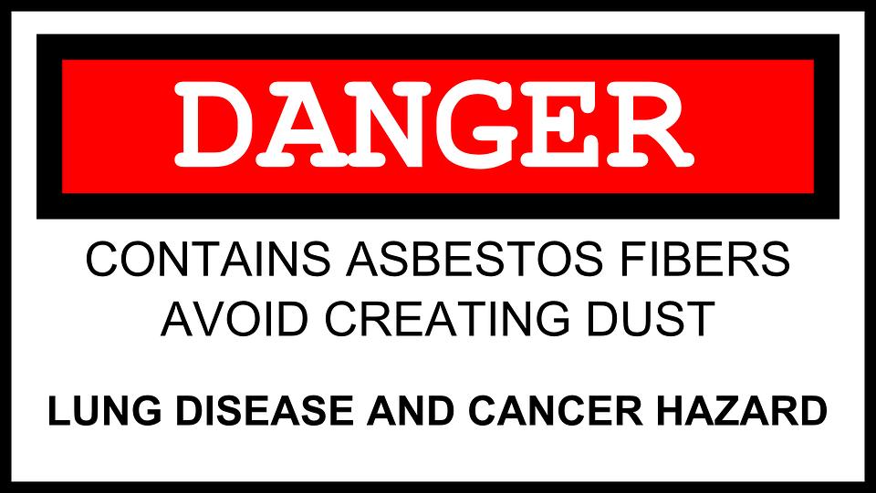 Asbest, Gevaar, Waarschuwing, Kanker, Gevaarlijke
