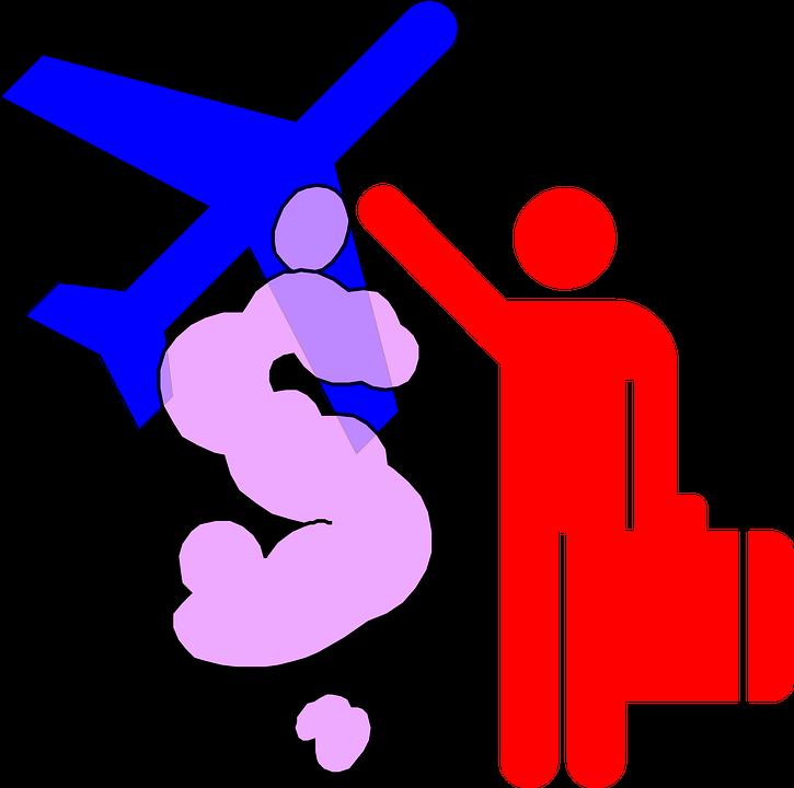 Perjalanan Pesawat Terbang Gambar Vektor Gratis Di Pixabay