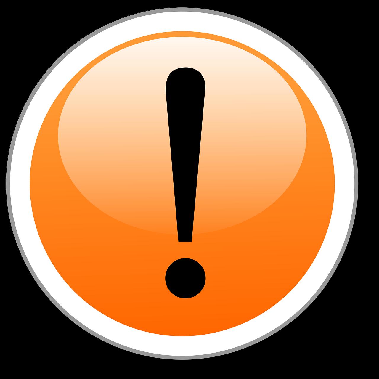 Логотип с восклицательным знаком
