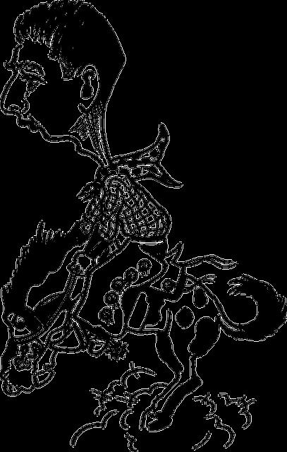 Free Vector Graphic Cowboy Riding Horse Man Rider