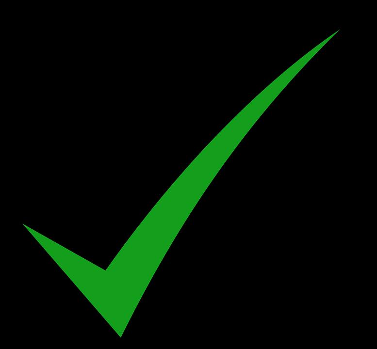 Tick Mark Correct Free Vector Graphic On Pixabay