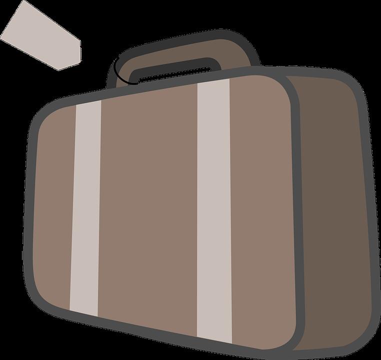 image vectorielle gratuite valise sac bagages cas voyage image gratuite sur pixabay 40175. Black Bedroom Furniture Sets. Home Design Ideas
