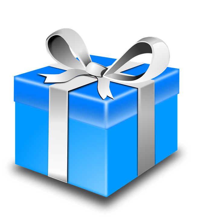 Free vector graphic box blue package ribbon gift free image box blue package ribbon gift birthday christmas negle Image collections