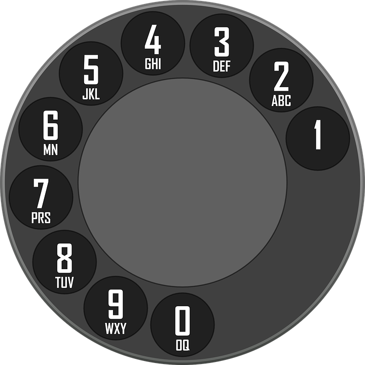 Free vector graphic: Rotary, Dial, Dialer, Telephone - Free Image ...