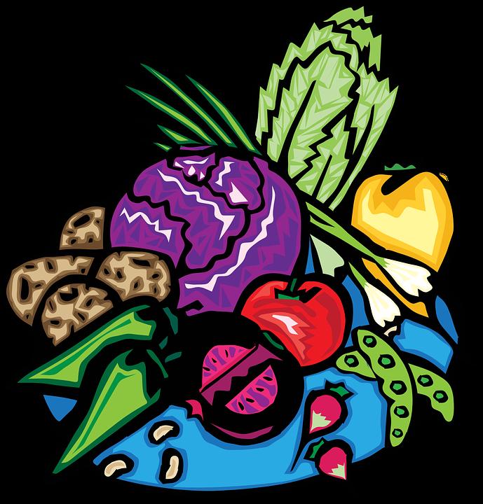 Buah Keranjang Sayur Gambar Vektor Gratis Di Pixabay