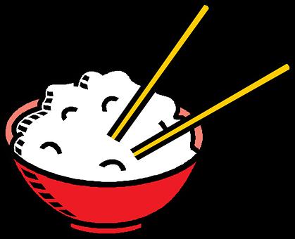 米, 箸, ボウル, 食品, 中国語, 皿, アジア, 夕食, 料理, 昼食