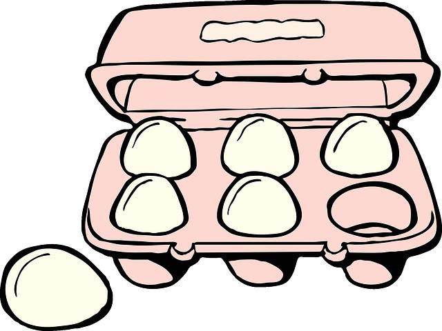 image vectorielle gratuite oeuf carton alimentaire bo te image gratuite sur pixabay 40292. Black Bedroom Furniture Sets. Home Design Ideas