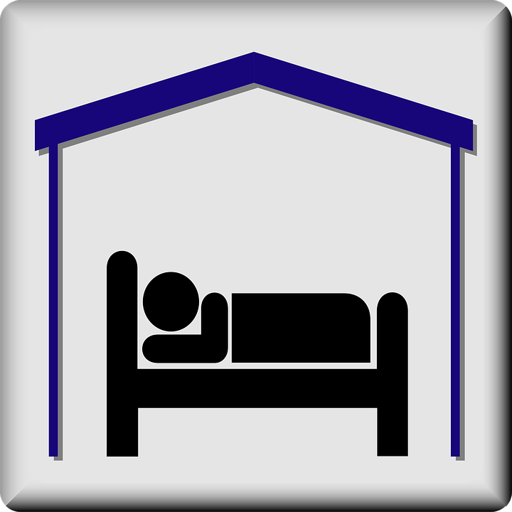 Room, Bed, Hotel, Pictogram, Motel, Accommodation