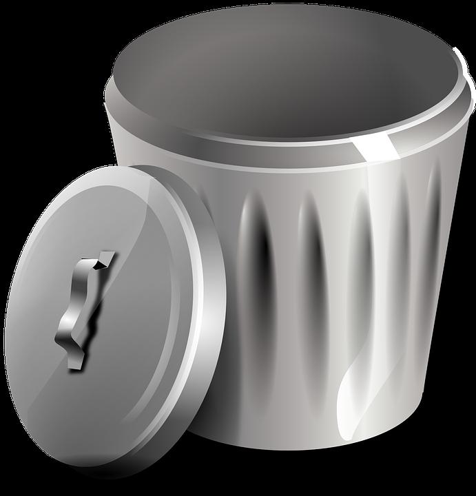 Garbage Basket Bin · Free vector graphic on Pixabay