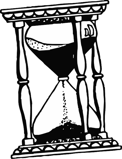 hourglass timer hour  u00b7 free vector graphic on pixabay