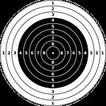 targets, bullseye, riffle