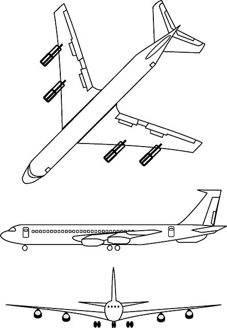 Free vector graphic airplane transportation plane - Trabajos manuales en madera ...