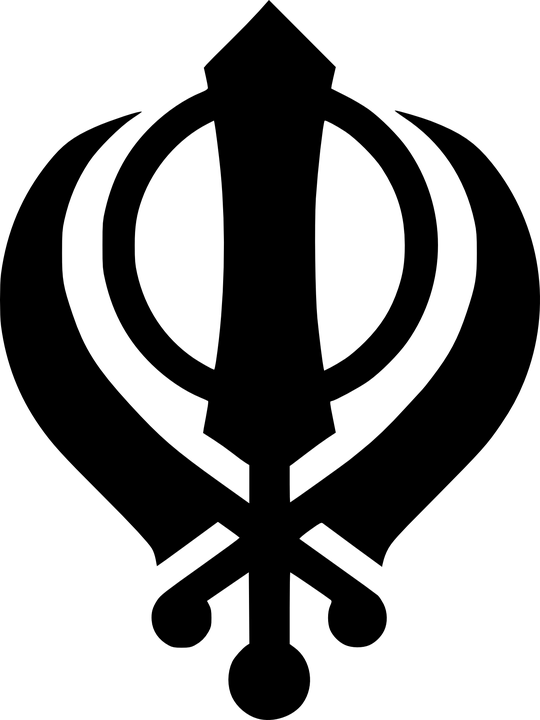 Sikhism Logo Insignia Free Vector Graphic On Pixabay