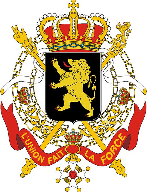 free vector graphic belgium  coat of arms  government bald eagle clip art craft bald eagle clip art craft