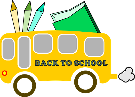 Back To School, Bus, Back, School