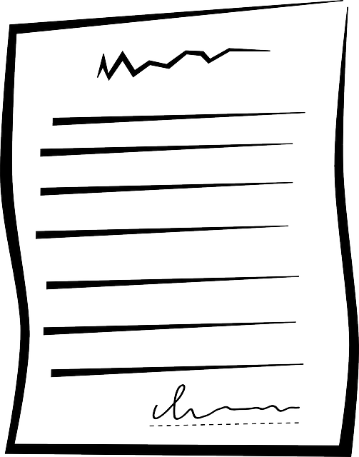 image vectorielle gratuite document papier contrat image gratuite sur pixabay 40600. Black Bedroom Furniture Sets. Home Design Ideas