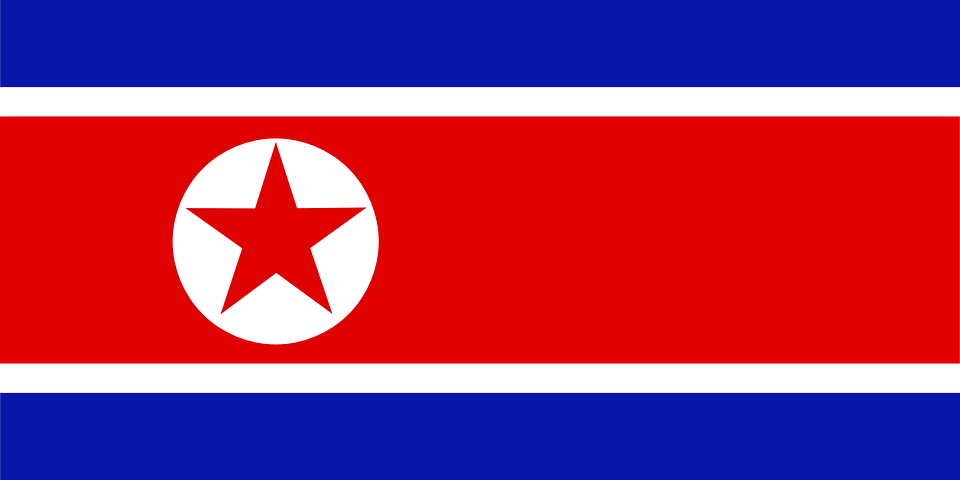 north korea flag free vector graphic on pixabay rh pixabay com korean flag vector graphic korean flag vector cdr