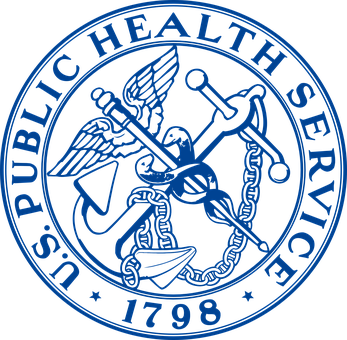 Seal, Blue, Public, Health, Service