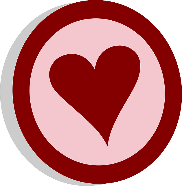 Heart Circle Love Free Vector Graphic On Pixabay