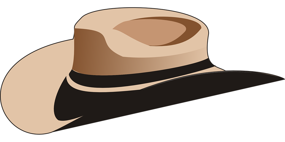 cowboy hat rancher free vector graphic on pixabay rh pixabay com Cowboy Hat SVG Old West Vaquero Hats