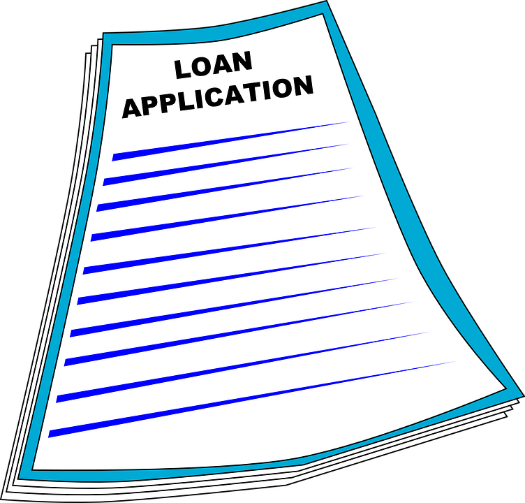 loan application form free vector graphic on pixabay rh pixabay com student loan clip art loan application clip art