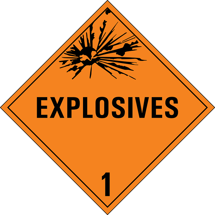Free vector graphic: Explosives, Dynamite, Explosion ...